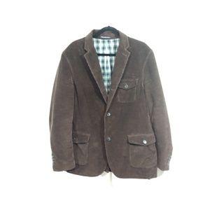 Land's End brown corduroy sports jacket
